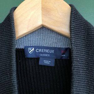 Daniel Cremieux Jackets & Coats - Black Daniel Cremieux Ribbed Sweater Vest full zip